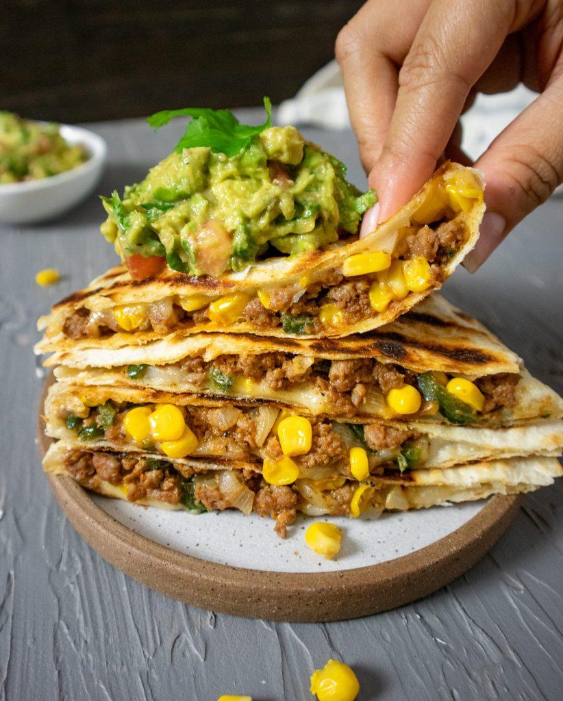 vegan quesadilla recipe