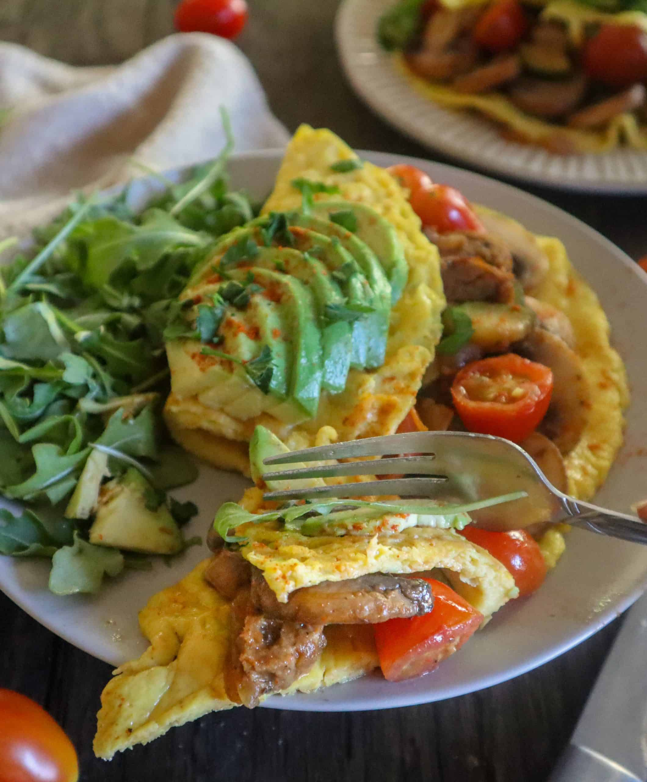 vegan omelette without chickpea flour