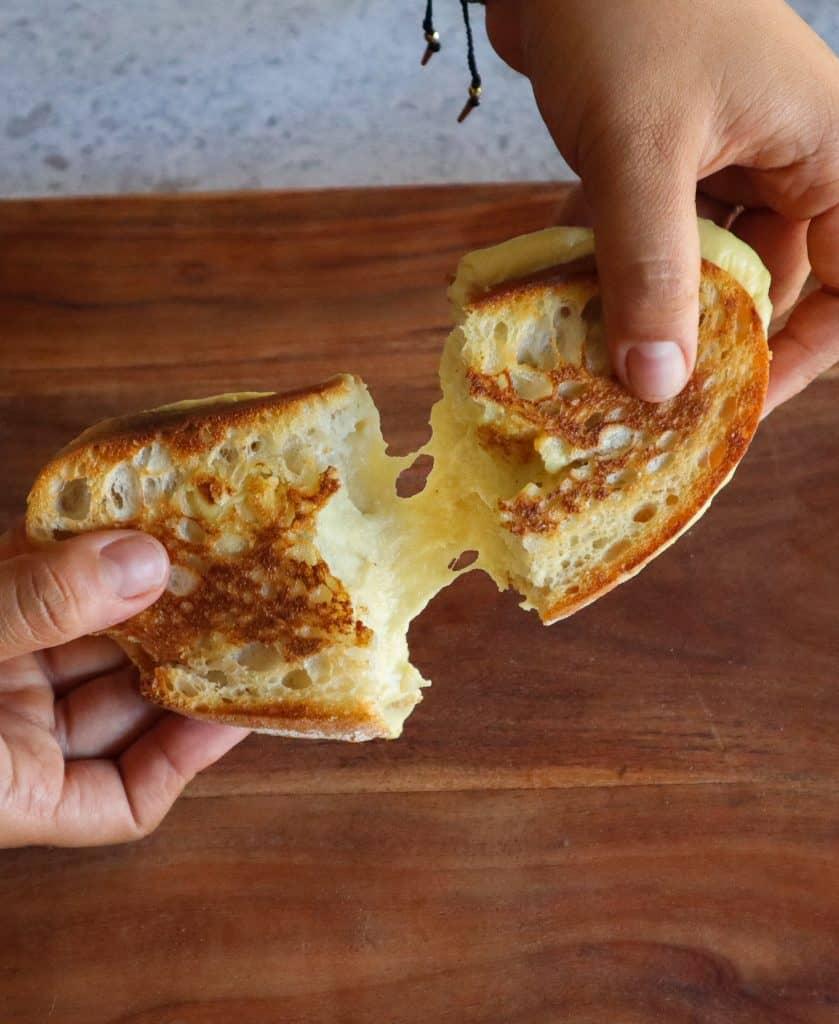 receta de queso mozzarella vegano