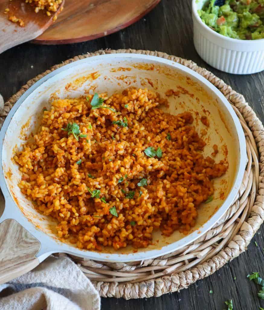 arroz integral receta