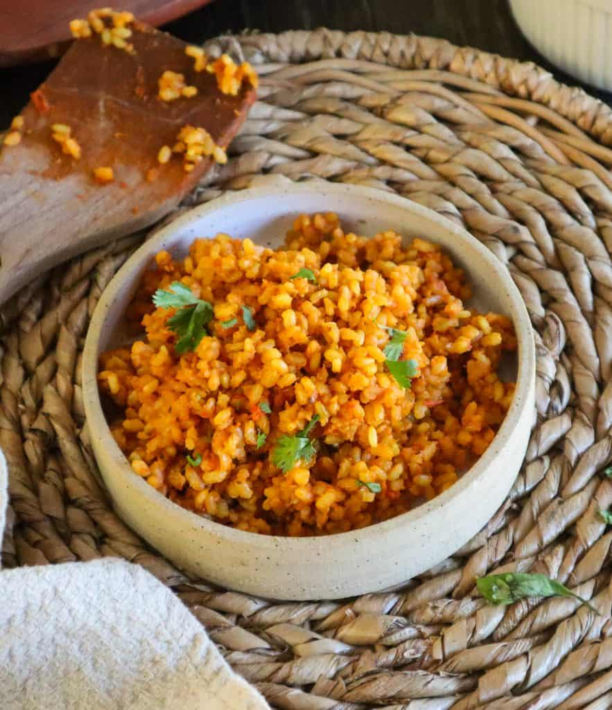 Simple mexican rice recipe