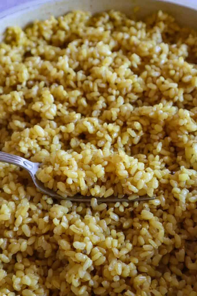 arroz integral mexicano