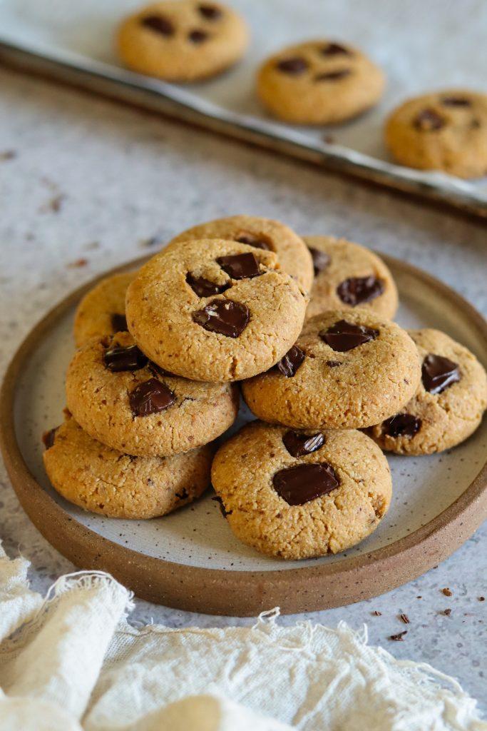 vegan cookies with applesauce