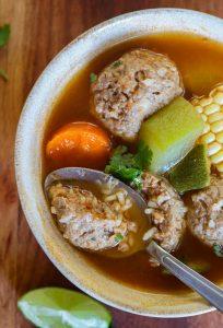 the best albondigas soup recipe